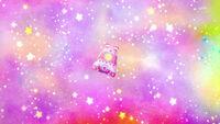 STPC21 The rocket floats through the Starry Sky Galaxy
