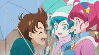 STPC45 Tatsunori asks Hikaru and Lala if they'll come ice skating with them