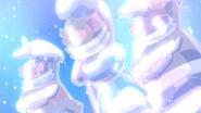 Saiarks congelados por el subataque de Sorbete ballet
