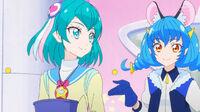 STPC45 Yuni will live on Lala's rocket until Planet Rainbow is restored