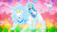 Cure Gelato A la Mode Style en el leon de cristal