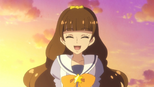 Kirara laughing