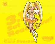 Cartel de Cure Sunshine en All Stars DX3