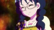 Yui resistiendose a convertirse en un zetsuborg