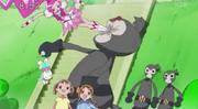 Blossom saves Haruka and Rumi