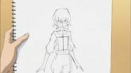 Boceto hecho por Itsuki