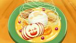 KKPCALM37-Forêt d'Halloween with sliced apple