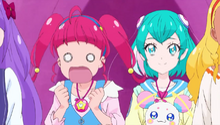STPC10 Hikaru shocked by appearance of the alien