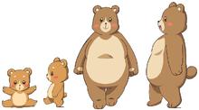MTPC movie-BD art gallery-26-Parent&child bears