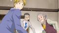 Washio with uraras dad and grandpa