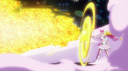 PH14 A golden beam is fired from the G-clef