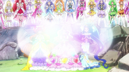 Pretty Cure Rainbow Tornado