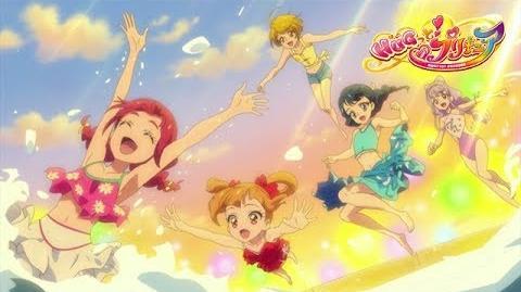 HUGっと!プリキュア 第24話予告 「元気スプラッシュ!魅惑のナイトプール!」