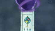 HuPC01.62-Charleet utilizando la torre del reloj para su Oshimaida