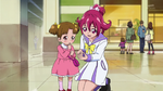DDPC01-Mana comforts Michiko by teaching her a charm