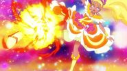 Disparo Solar de Escorpio Pretty Cure