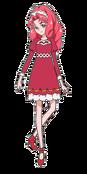 Towa con su vestimenta invenal