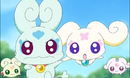Flappi and Choppi and Moop and Fuup go tho the softbal toernooi from Saki