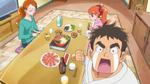 KKPCALM46-Genichirou being dramatic during dinner
