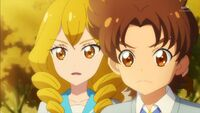 STPC40 Sakurako and Tatsunori tell Fuyuki that Lala is not an alien