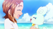 Saki y Flappy en Makasete! Splash☆Star