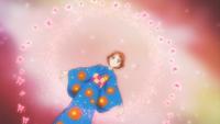 Rin metamorphose in yukata