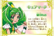 Cartel de Cure March en Pretty Cure All Stars New Stage 3