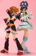 Figura cure black cure white max heart