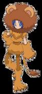 Perfil de Aoi disfrazada de leon
