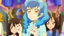 STPC25 Yuni feels chills go down her spine