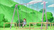 Potpourri le explica a Haruka que se ha peleado con las Pretty Cure