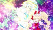 Ange y MaCherie en Pretty Cure All For You