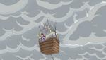 YPC511 Balloon disappears into Arachnea's cloud