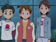 Yuko with friends