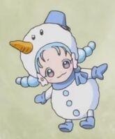 Ha-chan snowman
