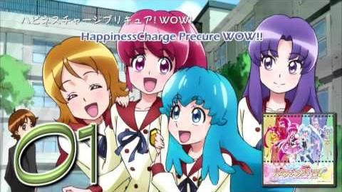 HappinessCharge Precure! OP&ED Theme Single Track01