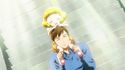 SmPC19-Young Yayoi on her dad's shoulders