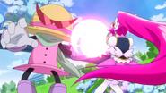 Lovely peleando con el saiark