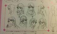 Bocetos Rostros de Minami