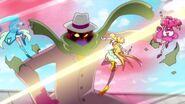 Cure Sparkle salva a Grace y Fountaine