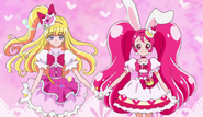 Cure miracle y cure whip final mahou tsukai