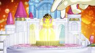Dressup key de Twinkle insertada en el palacio