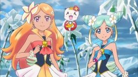 Aloha precure and her mascot