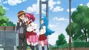 Megumi diciendo que esos amigos, eran ellos 2
