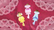 Llave de Vestir de Flora, Mermaid y Twinkle al final del episodio 5