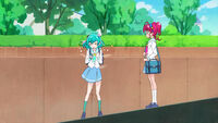 STPC13 Lala doesn't want Hikaru, Elena and Madoka to be viewed as strange because of her