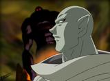 FwPC23 Evil King talks to Ilkubo