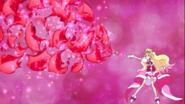 Flora lanzando el ataque