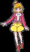 Perfil de Mirai con su vestimenta casual en la pelicula