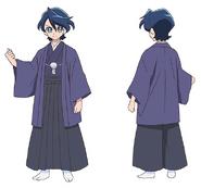 KKPCALM-concept art 2.15-Kuroki Rio (Japanese clothes)